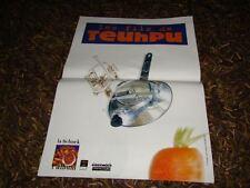 LES FILS DE TEUHPU - RARE AFFICHE DE CONCERT SCHNEK !!!