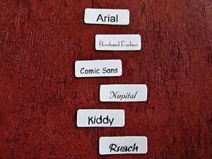 50 Wäscheschilder  Namensschilder Wäscheetiketten Wäschenamen zum Aufbügeln