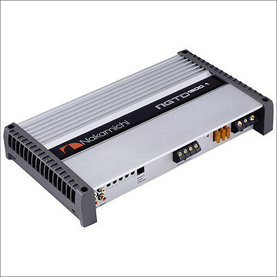 Nakamichi Digital Mono-block Power Amplifier NGTD1200.1