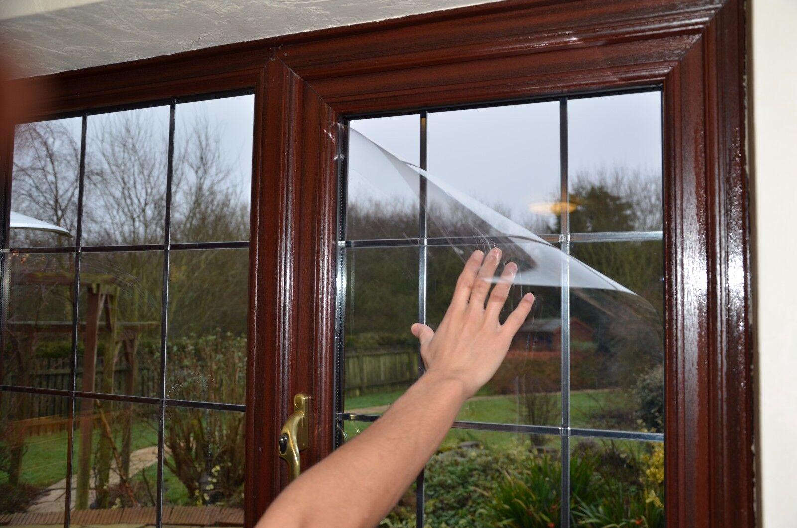 Joyeuses fêtes fêtes Joyeuses et bonnes affaires! Clear Safety Film De Fenêtre 8a781f