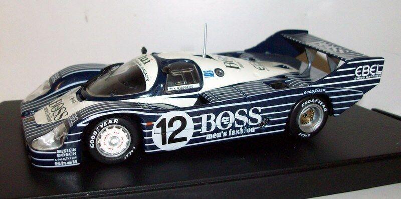Quartzo 1 43 Scale - Q3060 Porsche 956 Short tail Boss DRM Norisring 1983