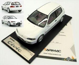 Honda-Civic-WH-EG6-Sir-II-1993-White-1-18-Tarmac-New-Boxed