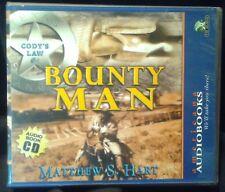 "Used Audio book ""Bounty Man"" (Cody's Law #4) by Matthew Hart 3CD's Abridged"