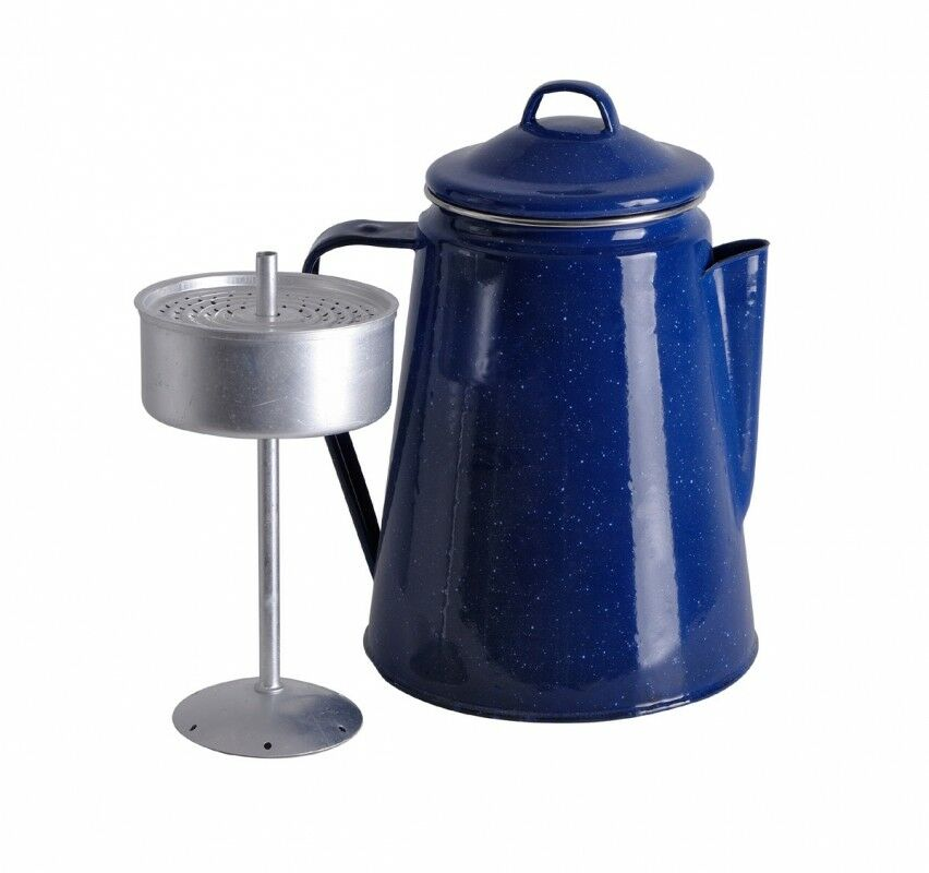 Relags kaffekanne  Emaille mit Perlator 1,8 Liter blue wie bei Bonanza NEU  store sale outlet
