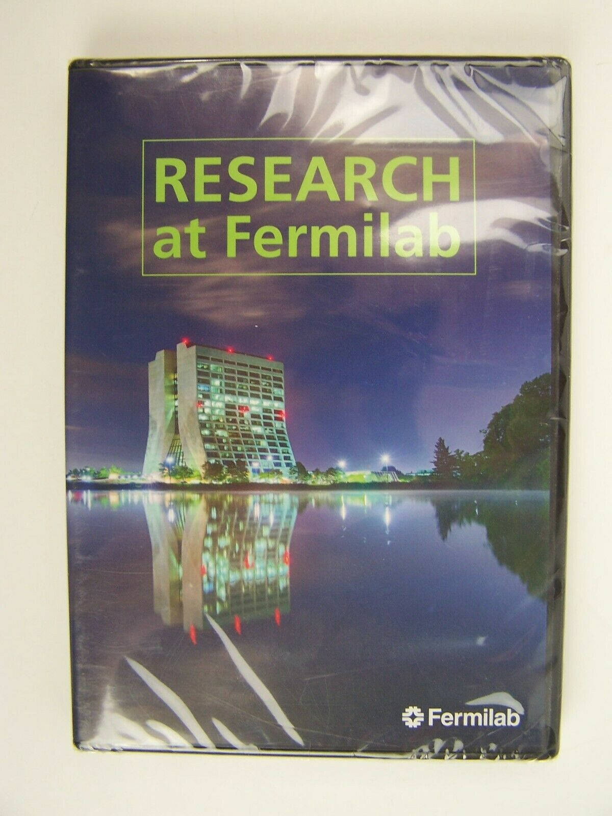 RESEARCH At Fermilab DVD New Sealed 2015