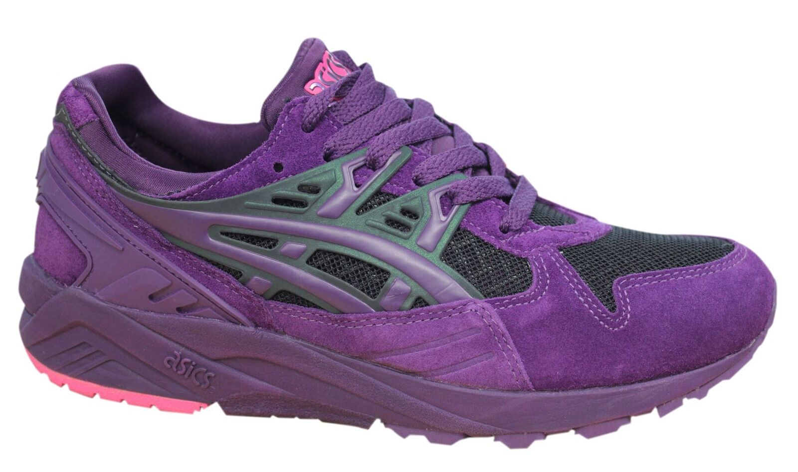 Asics Gel-Kayano Up Lace Up Gel-Kayano Violet Synthetic hommes Trainers H6M3N 3320 D3 0eb407