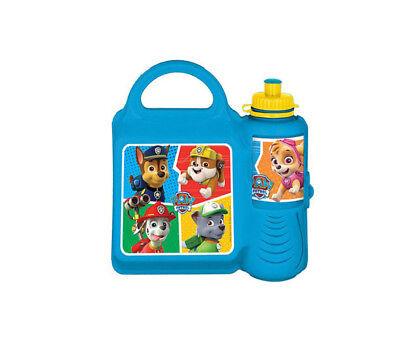Amichevole Paw Patrol Combo Set Pranzo Box Sports Water Bottle-bambini Scuola Picnic Set- Ampia Selezione;