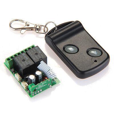 DC12V 2CH Wireless RF Remote Controller Switch Transmitter + Receiver Brand New