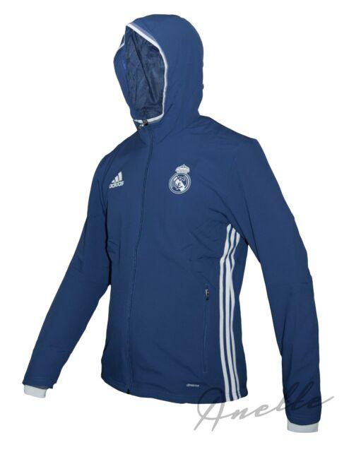 701cacd91 adidas Mens Gents Football Real Madrid Training Presentation Jacket ...