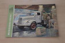 178549) Mercedes LKW Typ L 4500 K SA Prospekt 1953