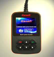 iCarsoft Tiefen Diagnose OBD Scanner ABS, Airbag,Motor passend für Ford Explorer