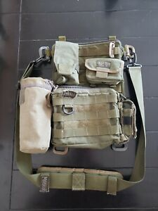 The-MOLLE-panel-EDC-murse-man-purse-One-of-a-kind-w-Maxpedition-pouches