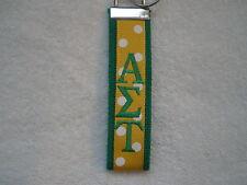 Alpha Sigma Tau Sorority Monogrammed KeyFob Keychain, OFFICIAL LICENSED