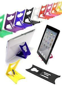 "Apple iPad, Galaxy Tab, Asus, 9"" 10"" Computer Table Holder : iClip Folding Stand"