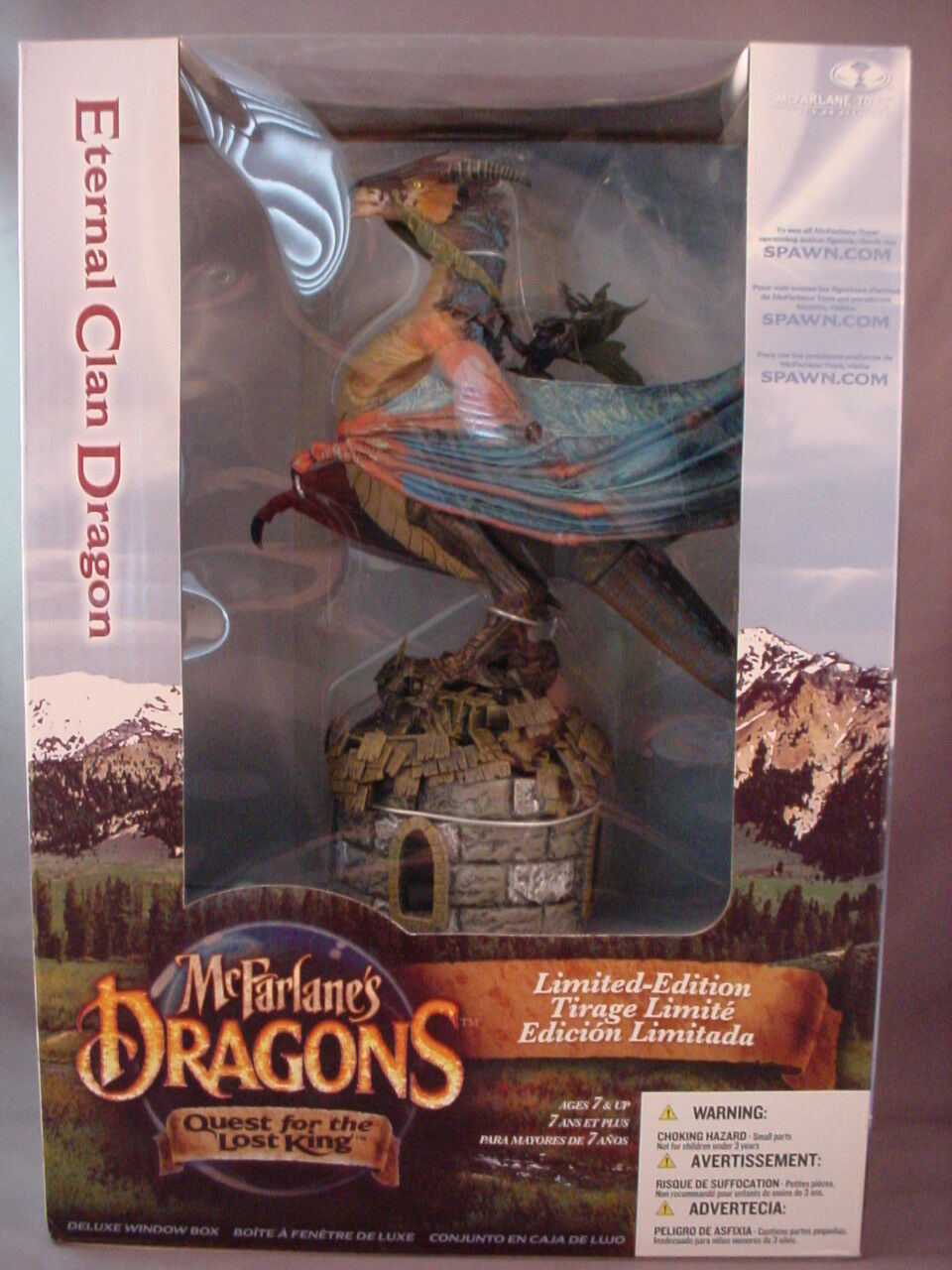 McFARLANE'S DRAGONS S1 ETERNAL CLAN DRAGON IN LIMITED-EDITION DELUXE WINDOW BOX
