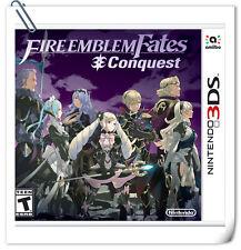 3DS Fire Emblem Fates: Conquest Nintendo RPG Games