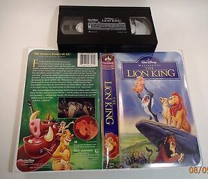 Walt disney pictures 1995 vhs family home.