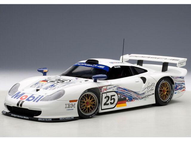 1:18 AutoArt - Porsche 911 GT1 24HRS LeMans 1997 H.Stuck/T.Boutsen/B.Wolleck #25