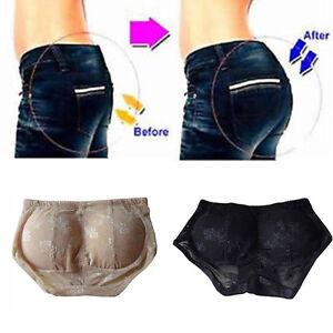 Women-Butt-Enhancer-Lift-Shaper-Booty-Lifter-Lace-Underwear-Briefs-Pad-Hip-Up