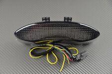 Feu arrière fumé clignotant intégré tail light triumph Speed triple 1050 2011 15