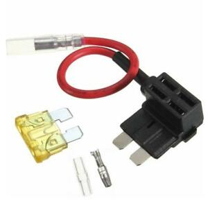 details about acu add a circuit piggy back pluggable standard blade tap fuse  holder big decor