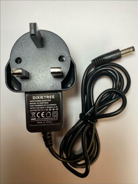 9V Negative Polarity AC-DC Adaptor Power Supply PSU for PC Engine Core Grafx