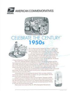 571-33c-Celebrate-the-Century-1950-039-s-3187-Stamp-Panel