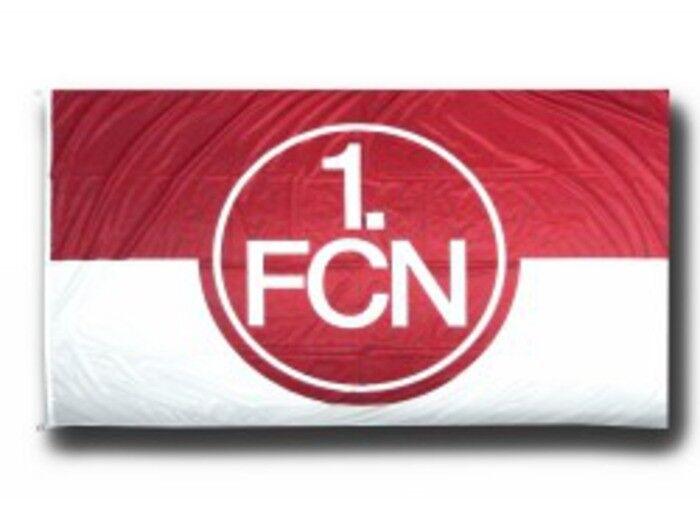 Hissflagge Fahne 1. FC Nürnberg Logo rot-weiß Flagge - 150 150 150 x 250 cm 9575ee