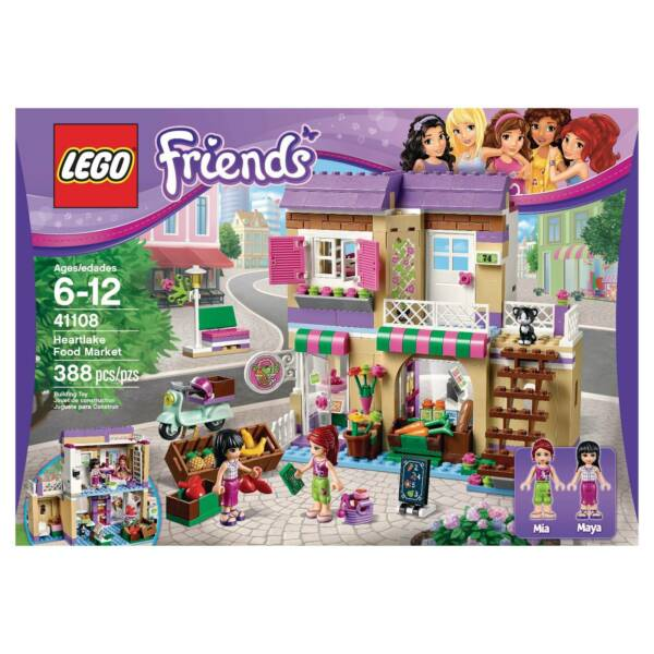 Lego Friends Food Market