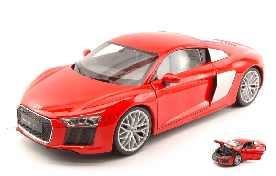 Audi R8 V10 2016 Red 1 18 Model 8052R WELLY