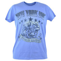York Ink Ny Tattoos Tv Show Bulldog Stars Distressed T-shirt Tee