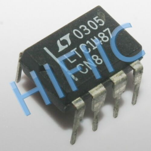 5PCS LTC1487CN8 LTC1487 3.3V Ultra-Low Power RS485 Transceiver DIP8