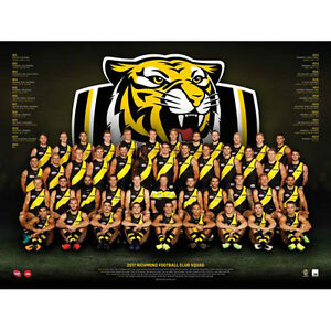 AFL-2017-Team-Richmond-Tigers-POSTER-60x80cm-NEW-Aussie-Football-League-Players