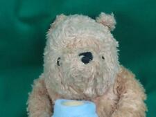 CLASSIC WINNIE THE POOH TEDDY BEAR BLUE HONEY POT HUNNY PLUSH STUFFED ANIMAL