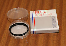 55mm Skylight Filter by Orion. Glass filter/metal thread in plastic case. ORN103