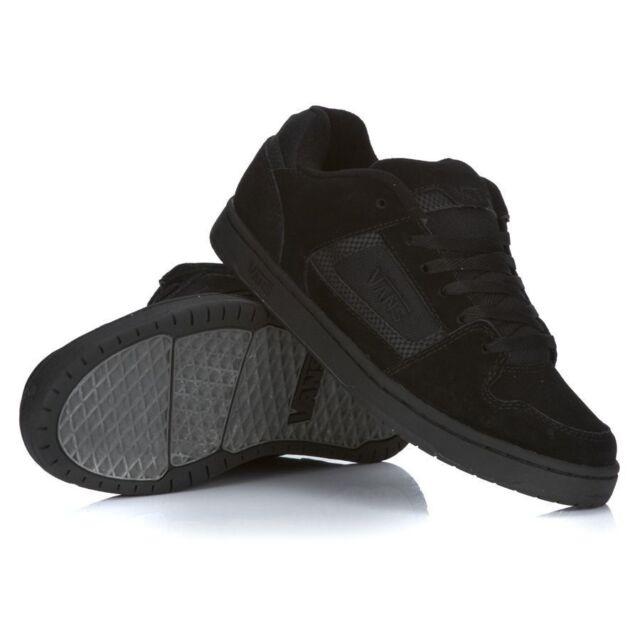 154e961b85 VANS Docket Black Charcoal Mens Skate Shoes SNEAKERS Suede Classic 8 ...