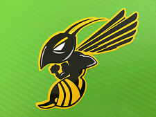 Hornet Bee Wasp logo decal stickers PAIR design ref #79