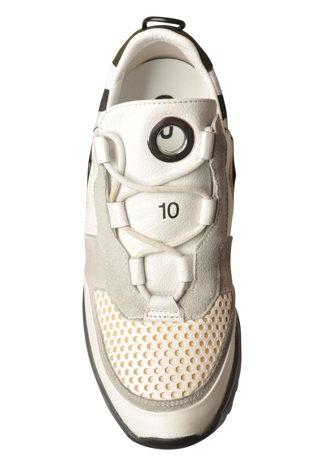 Leather Crown - chaussures-baskets low - Woman - blanc blanc blanc - 5859805A193925 5cd493
