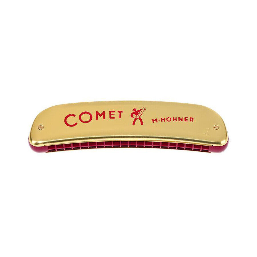 Hohner Comet 20 Double Hole Octave Tremolo Harmonica C Model 2504//40 GERMAN MADE