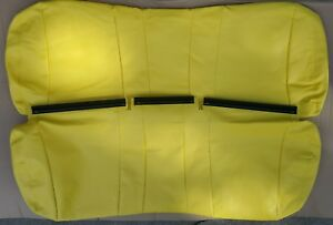 Marvelous Details About John Deere Gator Bench Seat Cover Back Only Xuv 825I S4 In Yellow Machost Co Dining Chair Design Ideas Machostcouk