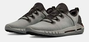 lowest price eb1c1 09d29 Details about UNDER ARMOUR UA HOVR SLK SILK SNEAKER GREY/BLACK STYLISH  COMFORTABLE SHOE