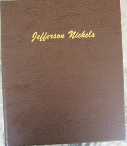 Jefferson-Nickel-Collection-1938-2014-Complete-in-a-Dansco-Album