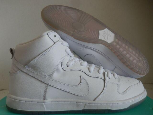 Size 11.5 - Nike SB Dunk High Pro White