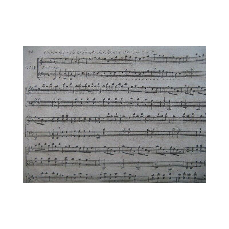 Despreaux Félix Kurs Bildung von Cembalo oder Piano 2e Teil 18. Jhd. musicshe