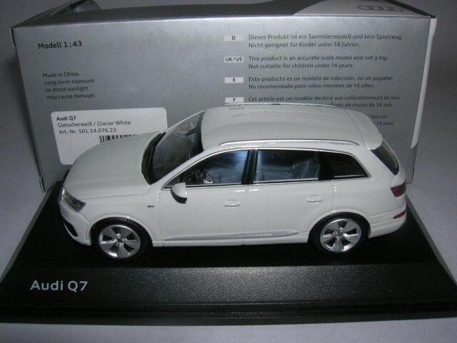 Spark Audi Q7 Q 7 Glacier Blanc Glacier Blanc, 1:43 Article 501 14 076 23