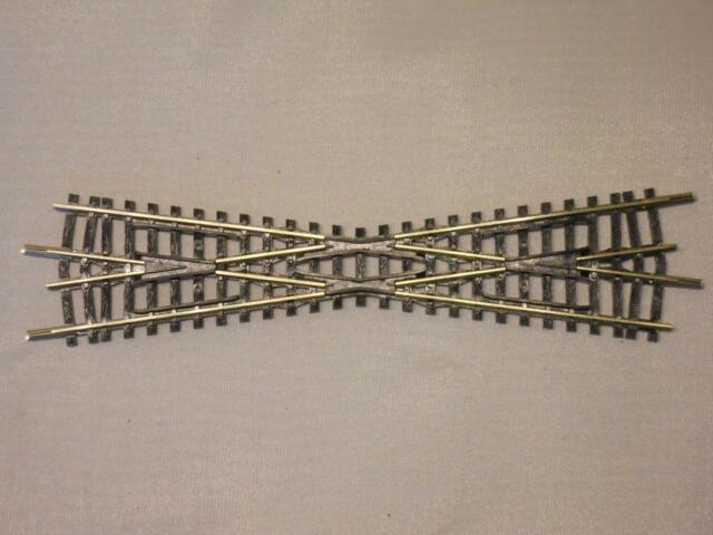 MINITRIX 14973 / 4973 Kreuzung 15° 129,8mm TOP (31939)