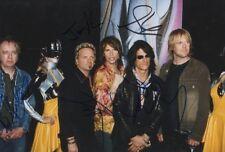Aerosmith Autogramme full signed 20x30 cm Bild
