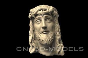 3D STL Model for CNC Router Carving Artcam Aspire Religion Jesus Christ D4