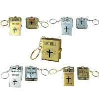 Mini Key Chain English Holy Bible, Spanish Dios Habla Hoy Religious Gift Baptism