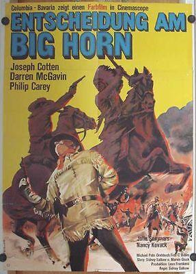 GroßZüGig Entscheidung Am Big Horn (filmplakat / Kinoplakat '65) - Joseph Cotten Gesundheit Effektiv StäRken